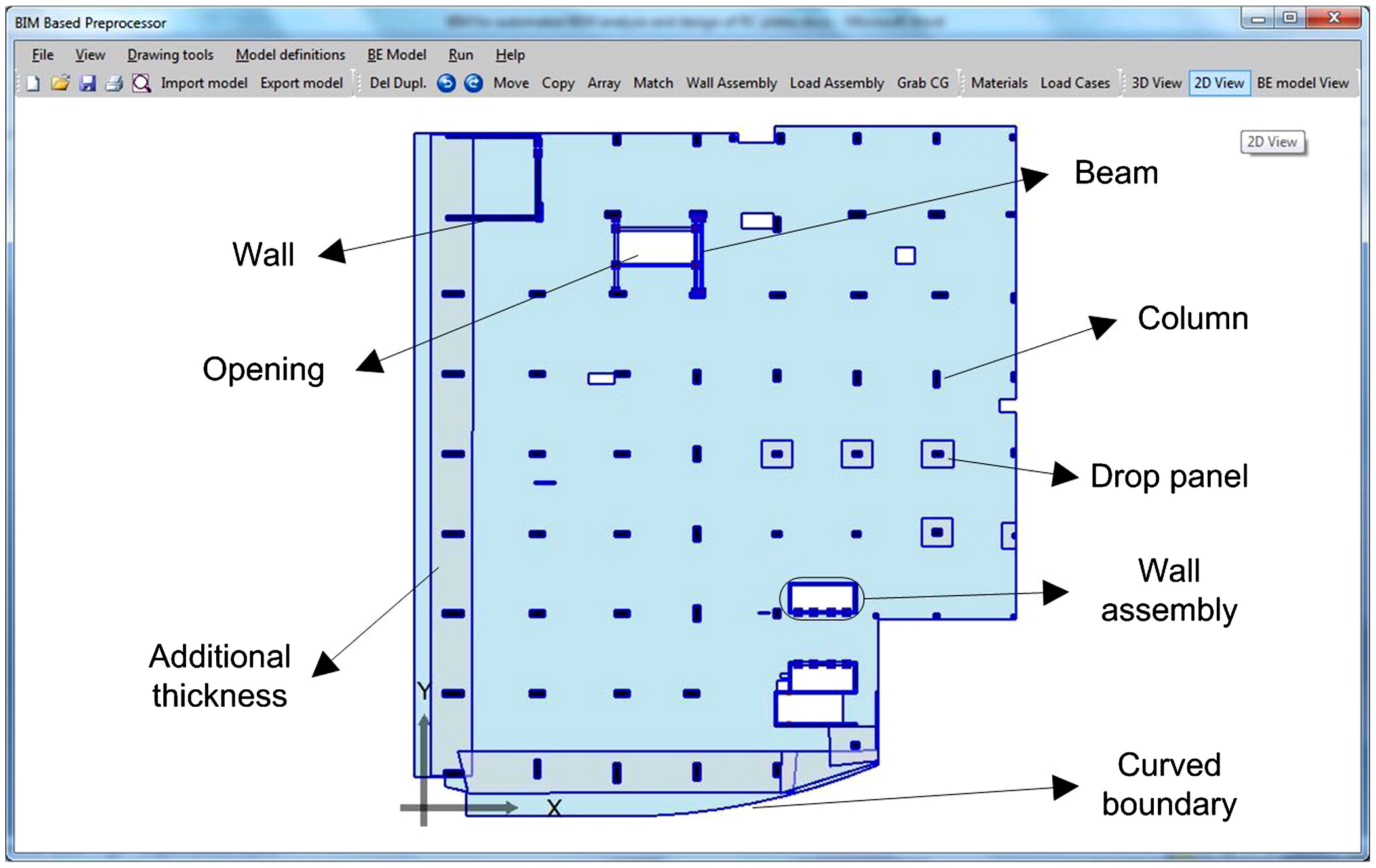 BIM Standards for Automated BEM Structural Analysis and Design of RC ...